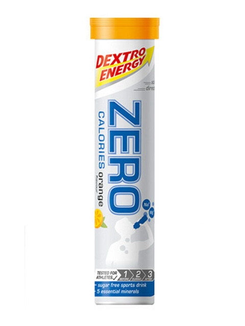 Dextro Energy Zero Calories Alimentazione sportiva Orange 20 Tabs